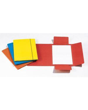 Cartellina c - elastico 17x25cm rosso 40l CG0040LBXXXAE02  CG0040LBXXXAE02 by Cart. Garda