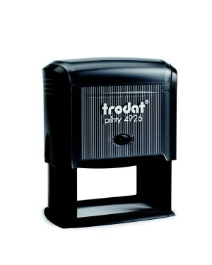 Timbro original printy 4926 75x38mm 8righe autoinch. personalizzabile trodat 45218. 92399452188 45218. by Trodat