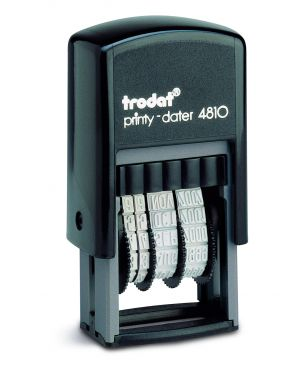 Timbro printy eco 4810 3,8mm datario autoinchiostrante trodat 70383. 45312 A 70383. by Trodat