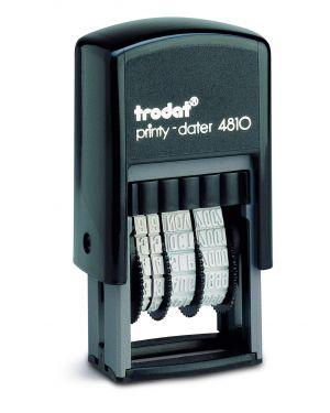 Timbro printy eco 4810 3,8mm datario autoinchiostrante trodat 70383. 45312 A 70383.