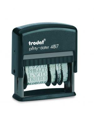 Timbro printy eco 4817 datario+ polinomio 3,8mm autoinchiostrante trodat 80363. 9008056787648 80363. by Trodat