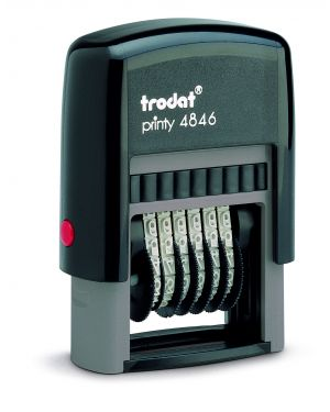 Timbro printy eco 4846 numeratore 6cifre 4mm autoinchiostrante trodat 73997. 9008056893769 73997. by Trodat