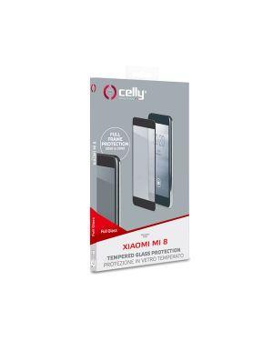 Full glass xiaomi mi 8 black Celly FULLGLASS782BK 8021735745938 FULLGLASS782BK