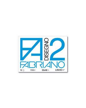 Cartella disegno fa2 33x48 fg.12 liscio FABRIANO 6200534 8001348161653 6200534 by Fabriano