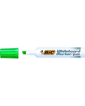 Pennarello velleda 1791 punta scalpello whiteboard verde bic 943197 47363 A 943197 by Bic
