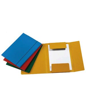Cartellina c - elastico 25x34cm verde presspan 32p CG0032PBXXXAE03 51440A CG0032PBXXXAE03