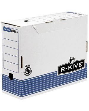 Scatola archivio r-kive a4 dorso mm.100 FELLOWES 26501 0043859521005 26501 by R-kive