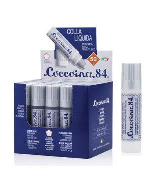 Colla coccoina liquida in tubetto c - spugnetta 50gr (art. 684 146842100 80571841 146842100