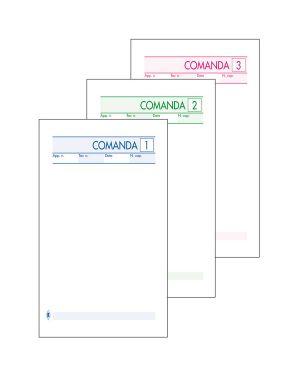 Blocco comande 25fogli 3 copie autocopiante 10x17cm art 512/3 bm CONFEZIONE DA 10 100198