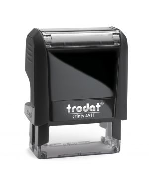 Timbro original printy 4.0 4911 38x14mm 4righe autoinch. personalizzabile trodat 43070. 92399431152 43070. by Trodat