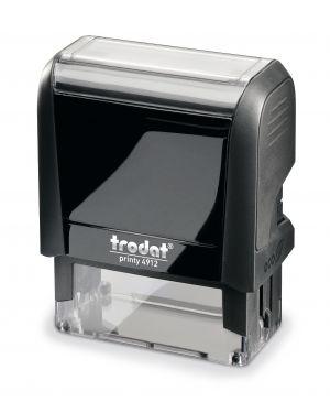 Timbro original printy 4.0 4912 47x18mm 5righe autoinch. personalizzabile trodat 43071.