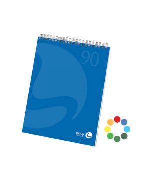 Blocco spiralato lato corto color a4 fg.50 gr.90 5mm BIEMME ARTI GRAFICHE 100208 8008234002083 100208 by Bm