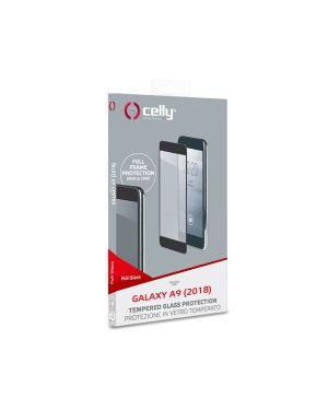 Full glass galaxy a9 2018 black Celly FULLGLASS796BK 8021735746188 FULLGLASS796BK