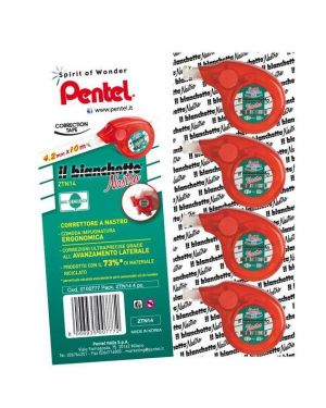 Il bianchetto nastro 10mx4.2mm Pentel 100819 8006935007772 100819