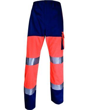 Pantalone alta visibilita' phpa2 arancio fluo tg. l PHPA2OMGT 3295249215521 PHPA2OMGT by Deltaplus