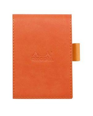 Portablocco c - bl 5m 11.5x8 mandarin Rhodia 118114C 3037921181140 118114C