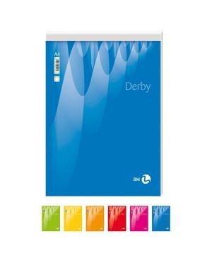 Blocco note derby 150x210mm 70fg 60gr pm bianco bm CONFEZIONE DA 10 100018