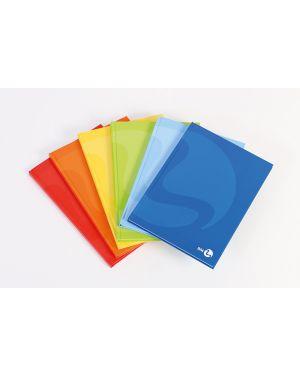 Quaderno cartonato a5 80gr 96fg+1 1rigo color 80 bm 105366 8008234053665 105366 by Bm
