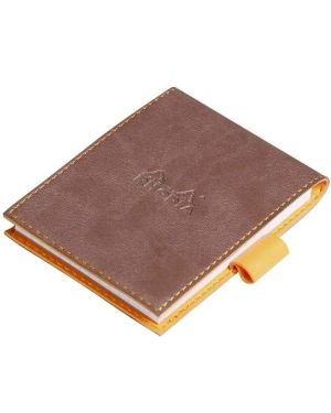 Portabl c - bl 1r 11.5x8 cioccolato Rhodia 118203C 303792118206 118203C by No