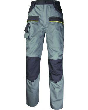 Pantalone da lavoro mach 2 grigio ch. - grigio sc. tg. l MCPANGR-GT  MCPANGR-GT by Deltaplus