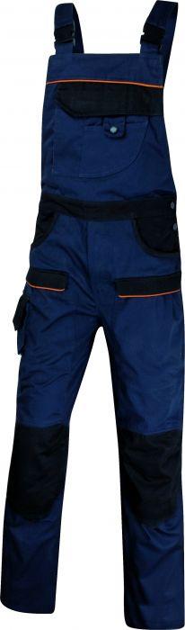 Salopette da lavoro mach 2 blu nero tg. xl MCSALBM-XG by Deltaplus 3d2b1619100