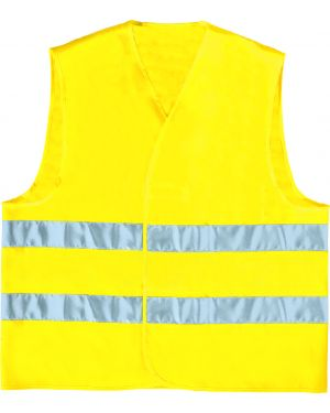 Gilet alta visibilita' giallo fluo tg. l GILP2JA-GT 3295249170530 GILP2JA-GT by Deltaplus