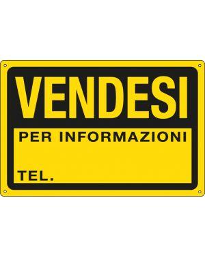 Cartello in ppl 30x20cm 'vendesi&#39 3344P 8769263344123 3344P