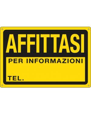 Cartello in ppl 30x20cm 'affittasi&#39 3345P 8769273345127 3345P