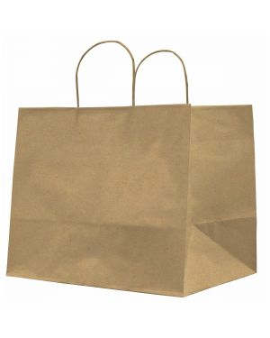 25 shoppers carta kraft 32x20x33cm twisted large avana 73014 8029307073014 73014 by Cartabianca