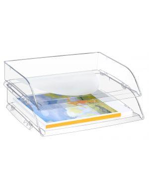 Vaschetta portacorrispondenza apertura frontale trasparente Crystal 135/2+ CEP 1135230111