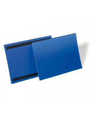 50 buste identificazione magnetiche 150x67mm art.1742 blu durable 1742-07 4005546109015 1742-07 by Durable