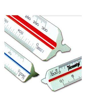 Scalimetro 98u 30cm (scale 1:1-2-5-20-50-100-200-500-1000-1250-2500) tecnostyl 98/U 8010026370386 98/U by Tecnostyl