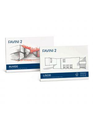 ALBUM FAVINI 2 24X33CM 110GR 20FG RUVIDO CONFEZIONE DA 10 A142514