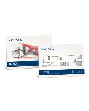 ALBUM FAVINI 4 33X48CM 220GR 20FG RUVIDO CONFEZIONE DA 5 A168503