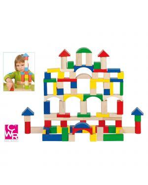 Costruzioni in legno conf. da 100 pz assoriti cwr 58669 4013594586696 58669