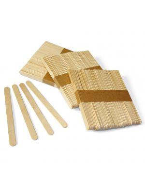 Stecche in legno set da 50 pz. dim. 10x115mm dom 1718 79476 A 1718 by Cwr