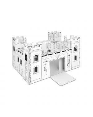 Modello in cartone castello con disegni JOYPAC 44 cm X 36 cm X 47 cm cod. JP000429.2 JP000429.2