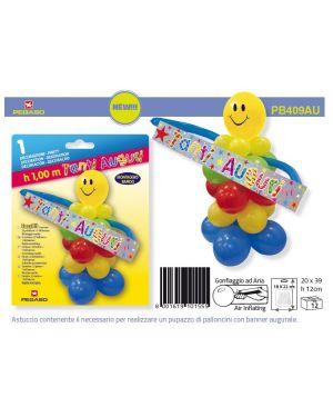 "Easy kit clown ""tanti auguri"" pegaso PB409AU"