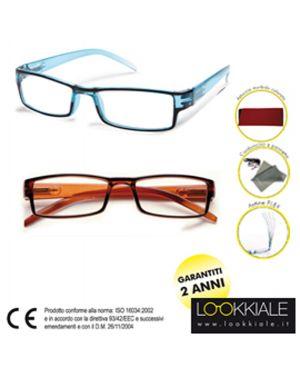 Occhiale diottrie +1,00 mod. elite marrone lokkiale ELITE +1,00 MARRONE