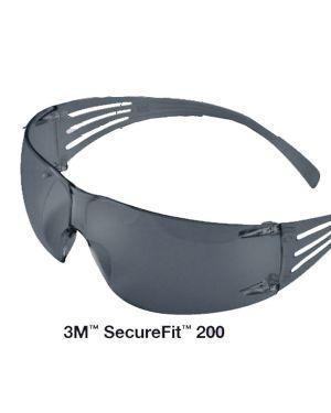 Occhiali di protezione classic securefit™ sf202af lente grigia 3m 82197
