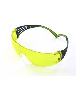 Occhiali di protezione classic securefit™ sf403af lente gialla 3m 7186
