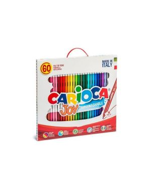 Pennarelli carioca joy 60 in valigetta CARIOCA 41015 8003511410155 41015
