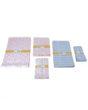 100 buste in carta 10x18cm stampa generic PF500400