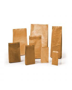 100 sacchetti avana 17x34cm +6cm in carta kraft MLN06 8006715099805 MLN06 by Sadoch