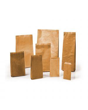 100 sacchetti avana 22x40cm +7cm in carta kraft MLN07 8006715099799 MLN07