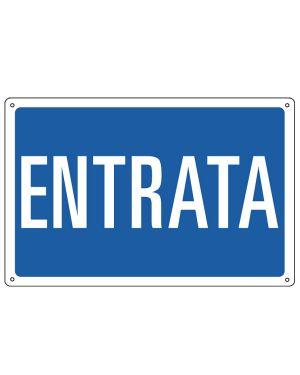 CARTELLO ALLUMINIO 30x20cm 'Entrata' 3151