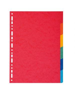 Intercalare 6 tacche colorato EXACOMPTA 2006 3130630020066 2006 by 3m