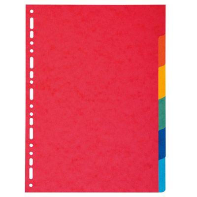 Intercalare 6 tacche colorato EXACOMPTA 2006 3130630020066