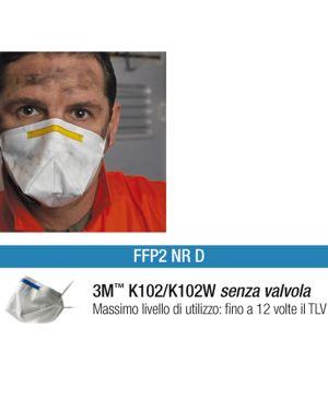 Scatola 20 MASCHERINE K102W FFP2 senza valvola 27880