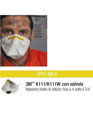Scatola 10 MASCHERINE K111W FFP1 con valvola 27844